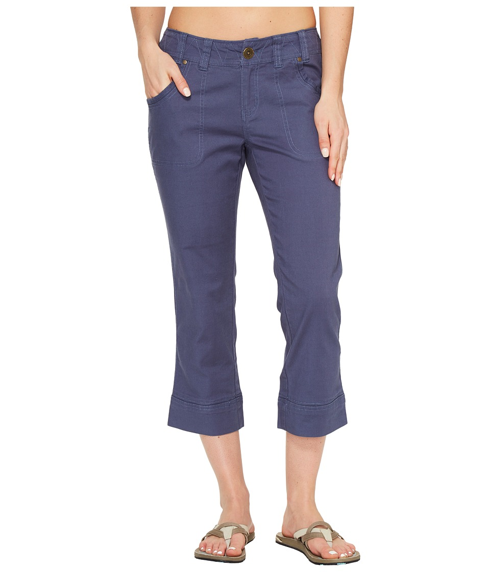 Aventura Clothing - Scout Capris (Vintage Indigo) Women's Capri