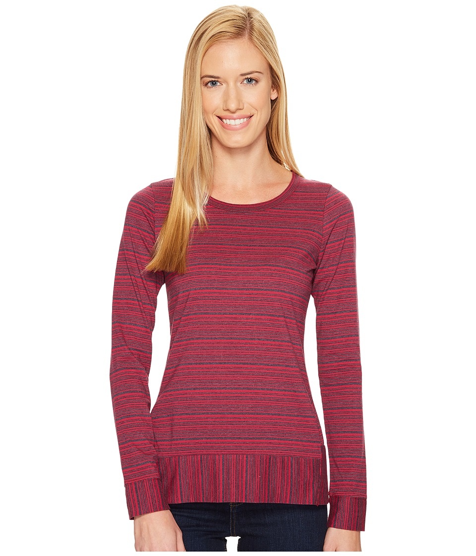 Aventura Clothing - Verve Long Sleeve (Cerise) Women's Clothing