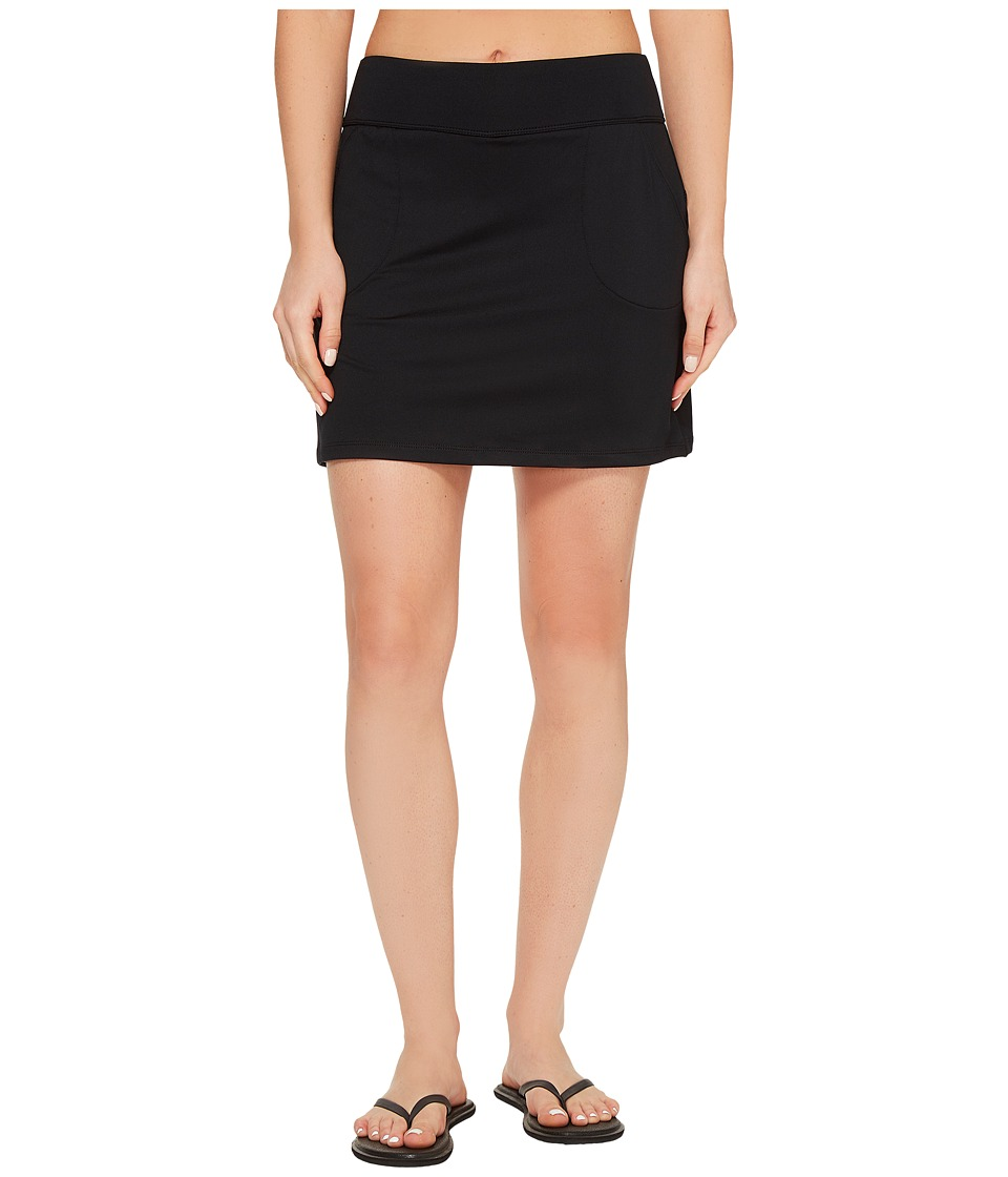 Aventura Clothing Solid Kineta Skort (Black) Women