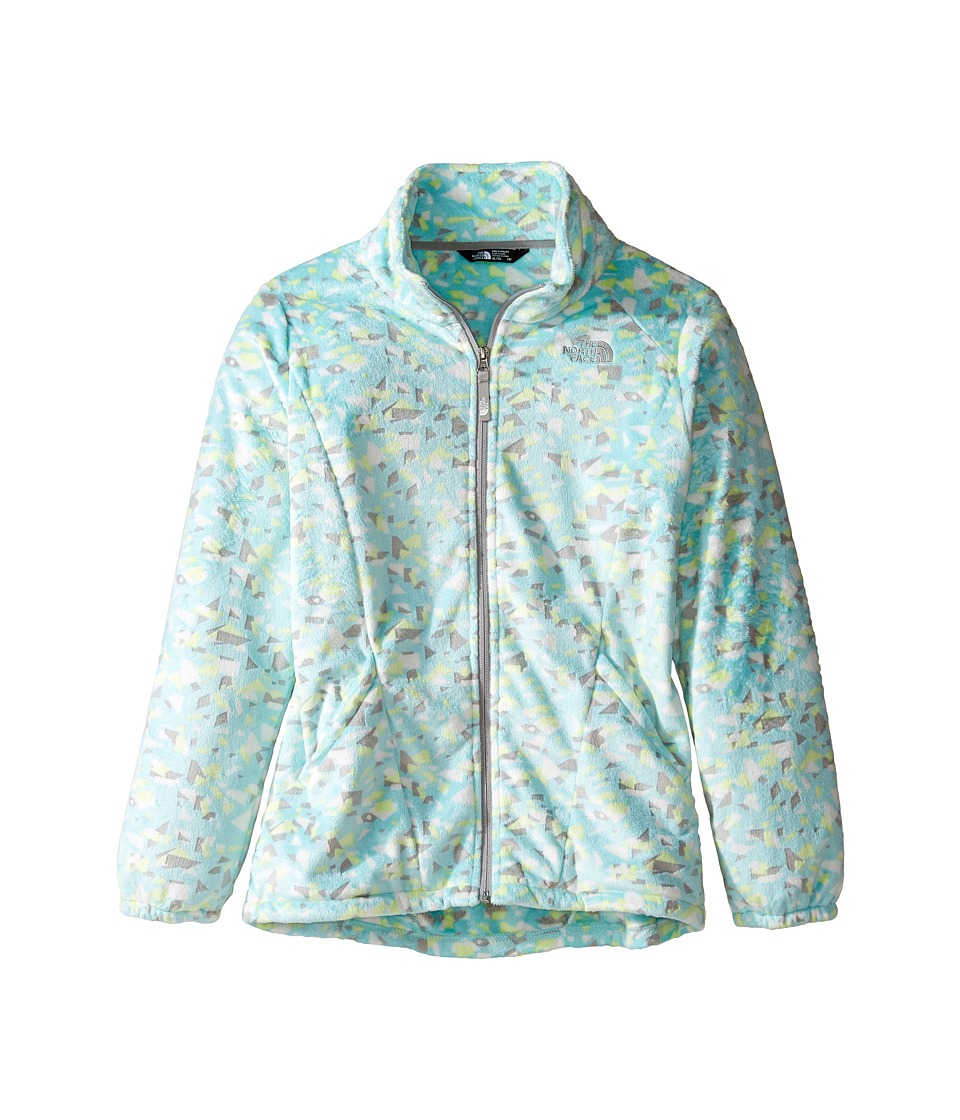 The North Face Kids - Osolita 2 Jacket (Little Kids/Big Kids) (Breeze Blue Confetti Burnout Print (Prior Season)) Girl's Coat