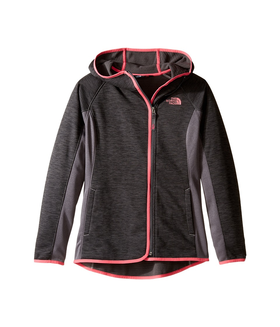 The North Face Kids - Arcata Hoodie (Little Kids/Big Kids) (Graphite Grey (Prior Season)) Girl's Sweatshirt