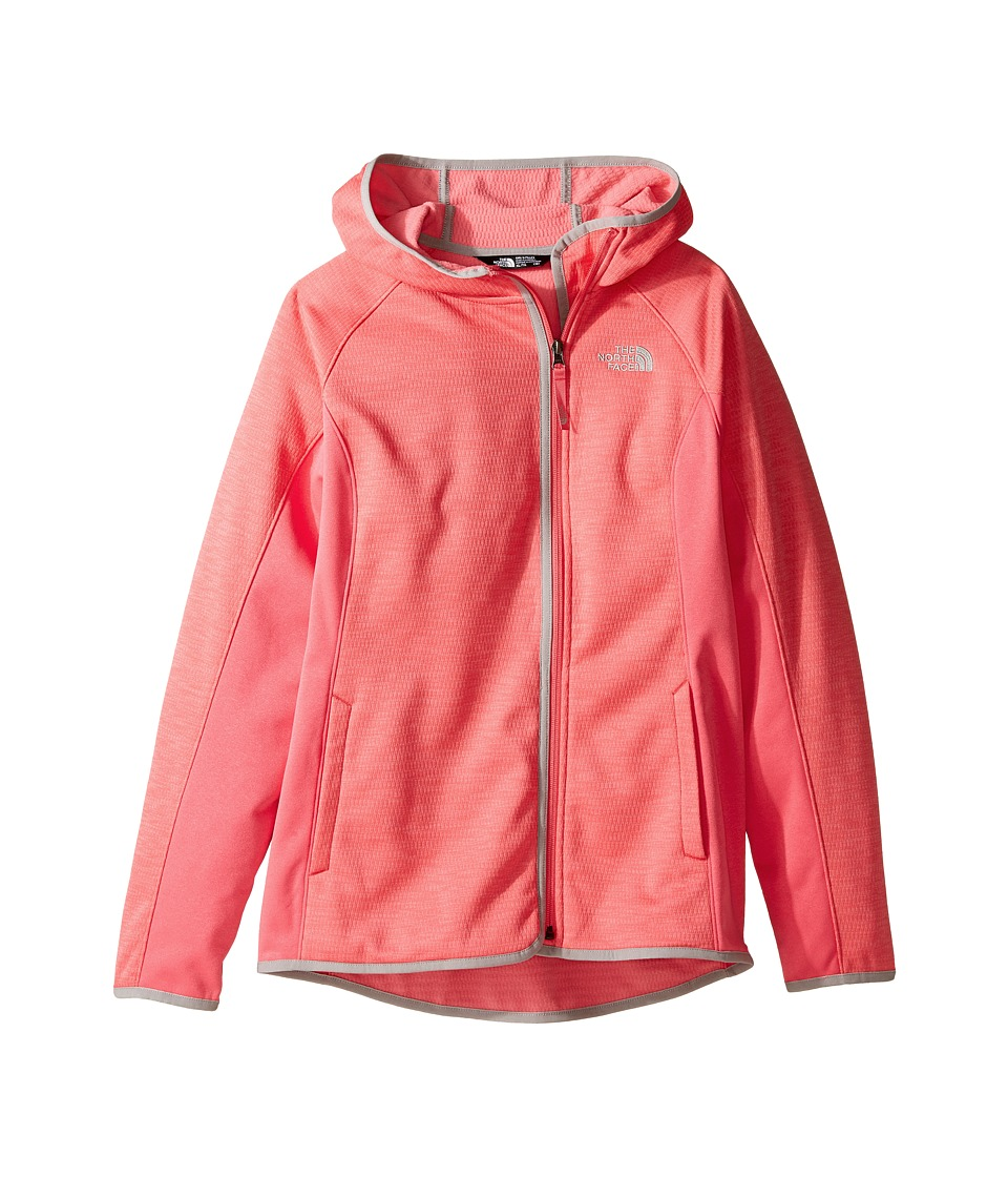 The North Face Kids - Arcata Hoodie (Little Kids/Big Kids) (Honeysuckle Pink (Prior Season)) Girl's Sweatshirt