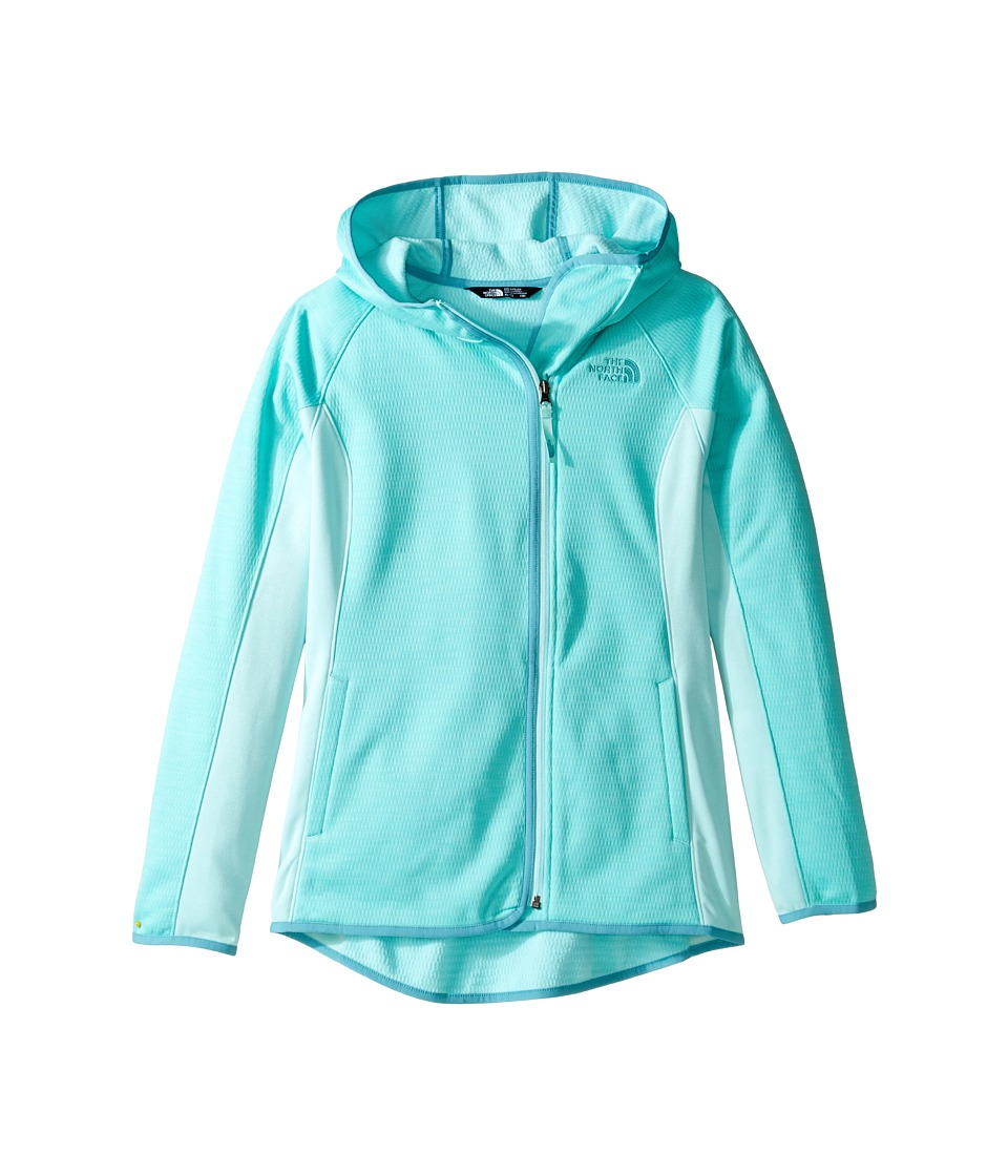 The North Face Kids - Arcata Hoodie (Little Kids/Big Kids) (Breeze Blue (Prior Season)) Girl's Sweatshirt
