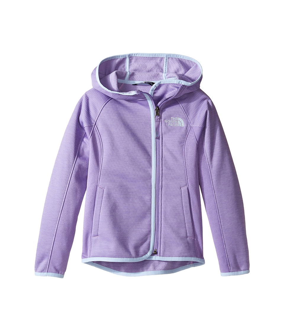 The North Face Kids - Arcata Hoodie (Little Kids/Big Kids) (Paisley Purple (Prior Season)) Girl's Sweatshirt