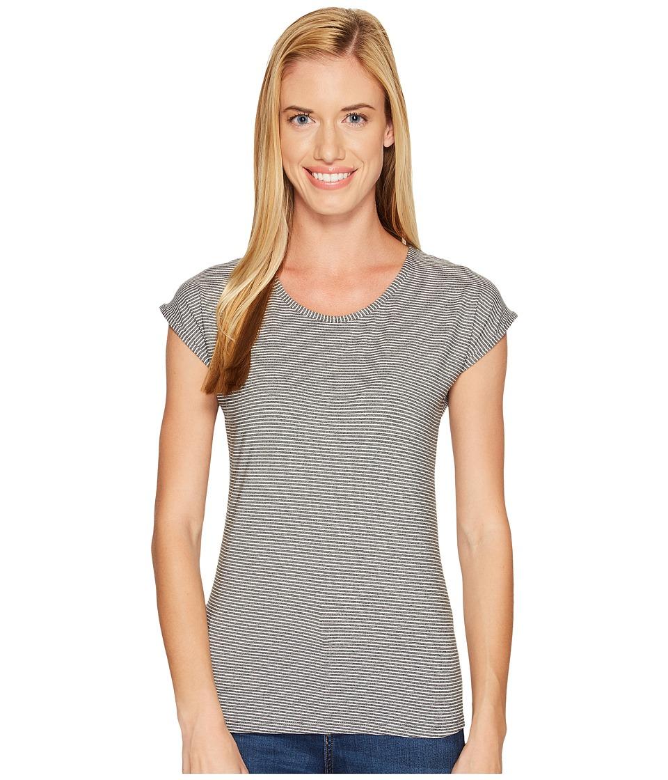 Aventura Clothing - Kineta Short Sleeve (Black Melange) Women's Clothing