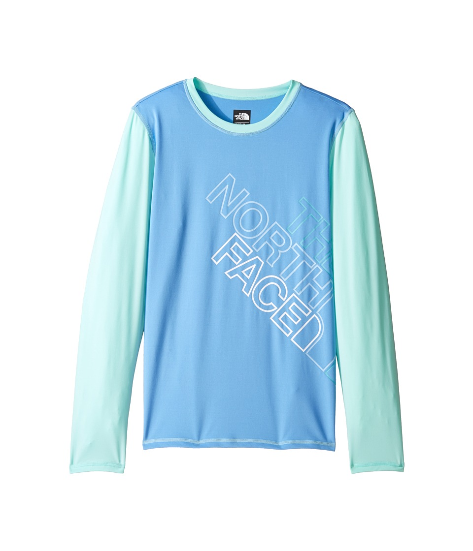 The North Face Kids - Long Sleeve Hike/Water Tee (Little Kids/Big Kids) (Provence Blue (Prior Season)) Girl's T Shirt