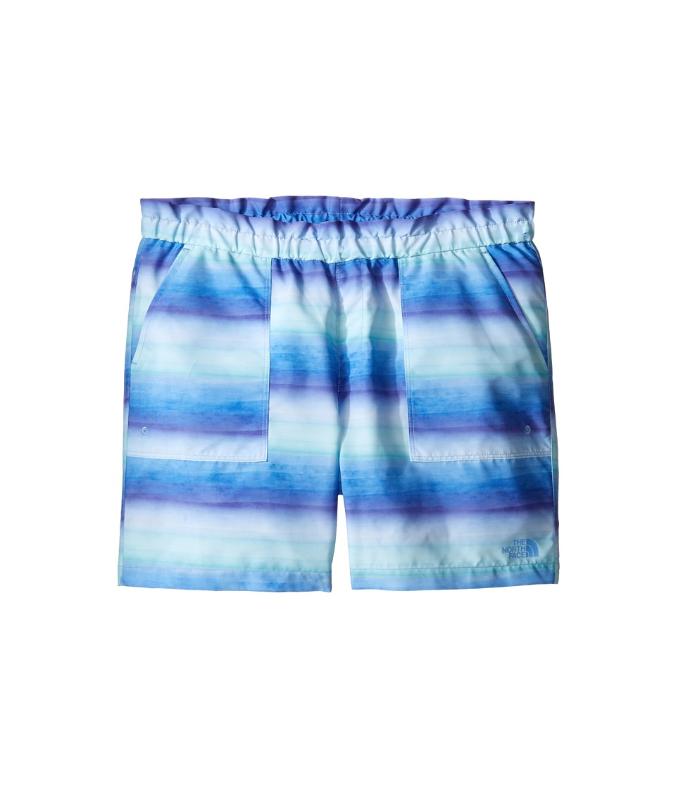 The North Face Kids - Hike/Water Shorts (Little Kids/Big Kids) (Provence Blue Ombre Stripe Hike Print (Prior Season)) Girl's Shorts