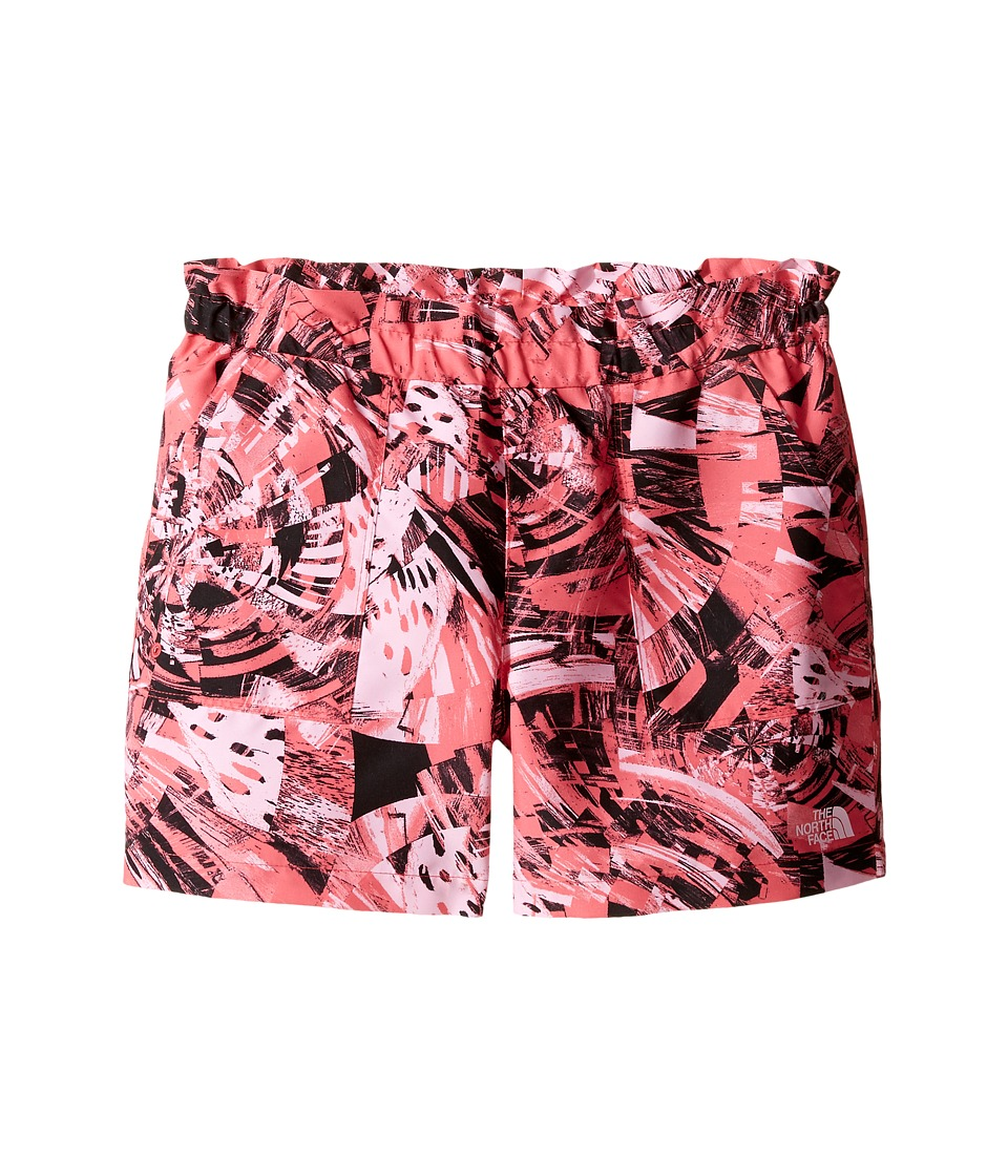The North Face Kids - Hike/Water Shorts (Little Kids/Big Kids) (Honeysuckle Print Spirograph Hike Print (Prior Season)) Girl's Shorts