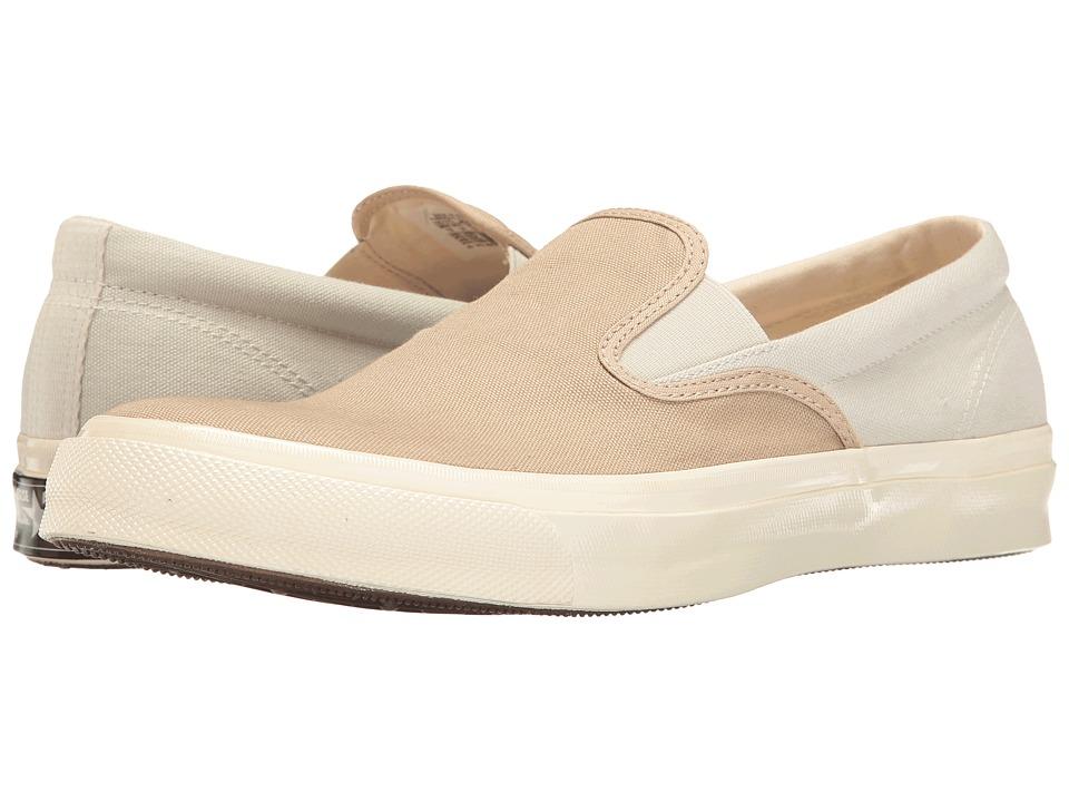 Converse - All Star Deck Star '67 Vintage Canvas Slip-On (Vintage Khaki/Buff/Egret) Men's Classic Shoes