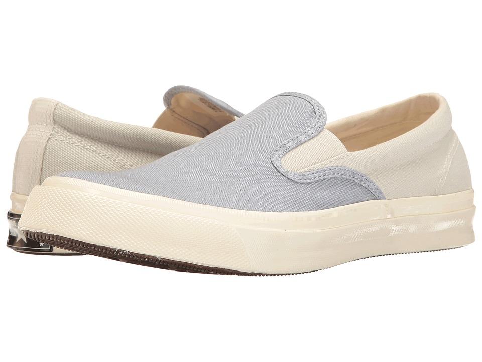 Converse - All Star Deck Star '67 Vintage Canvas Slip-On (Blue Granite/Buff/Egret) Men's Classic Shoes