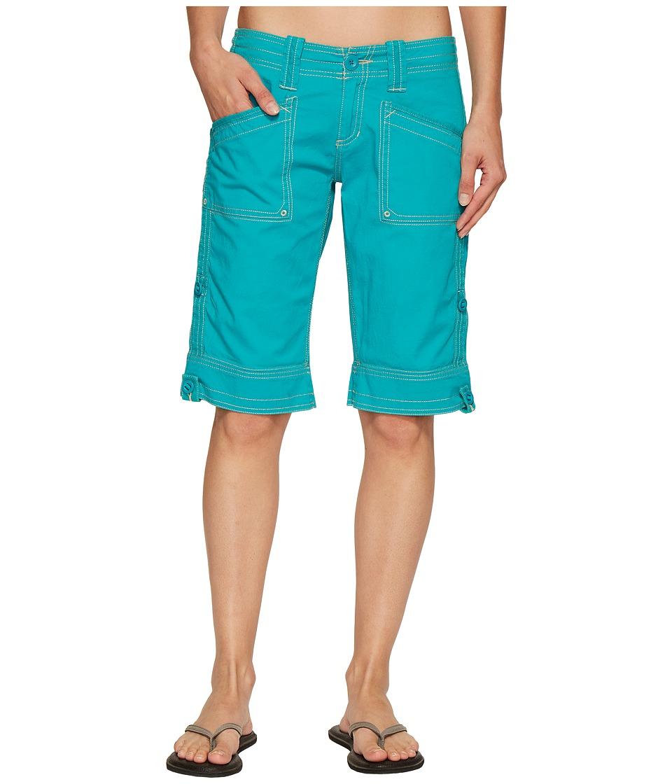Aventura Clothing - Arden Standard Rise Short (Viridian Green) Women's Shorts