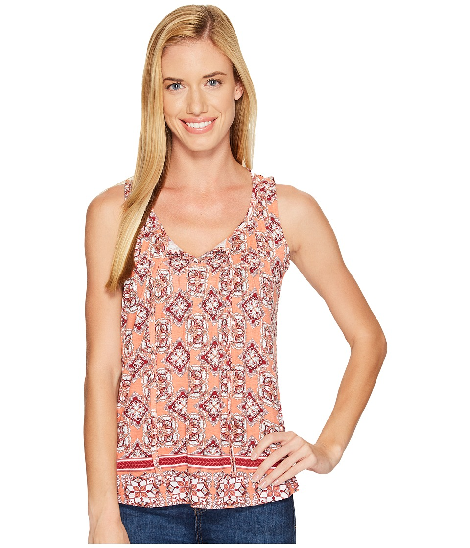 Aventura Clothing - Bardot Tank Top (Blooming Dahlia) Women's Sleeveless