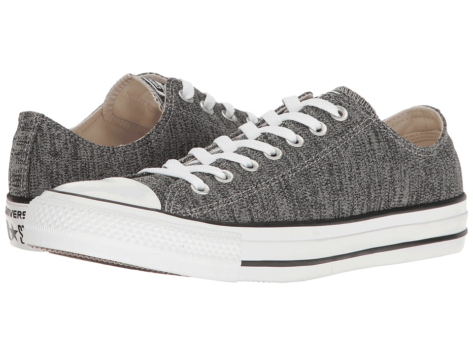 Converse - Chuck Taylor(r) All Star(r) Heathered Knit Ox (Dolphine/Black/White) Classic Shoes