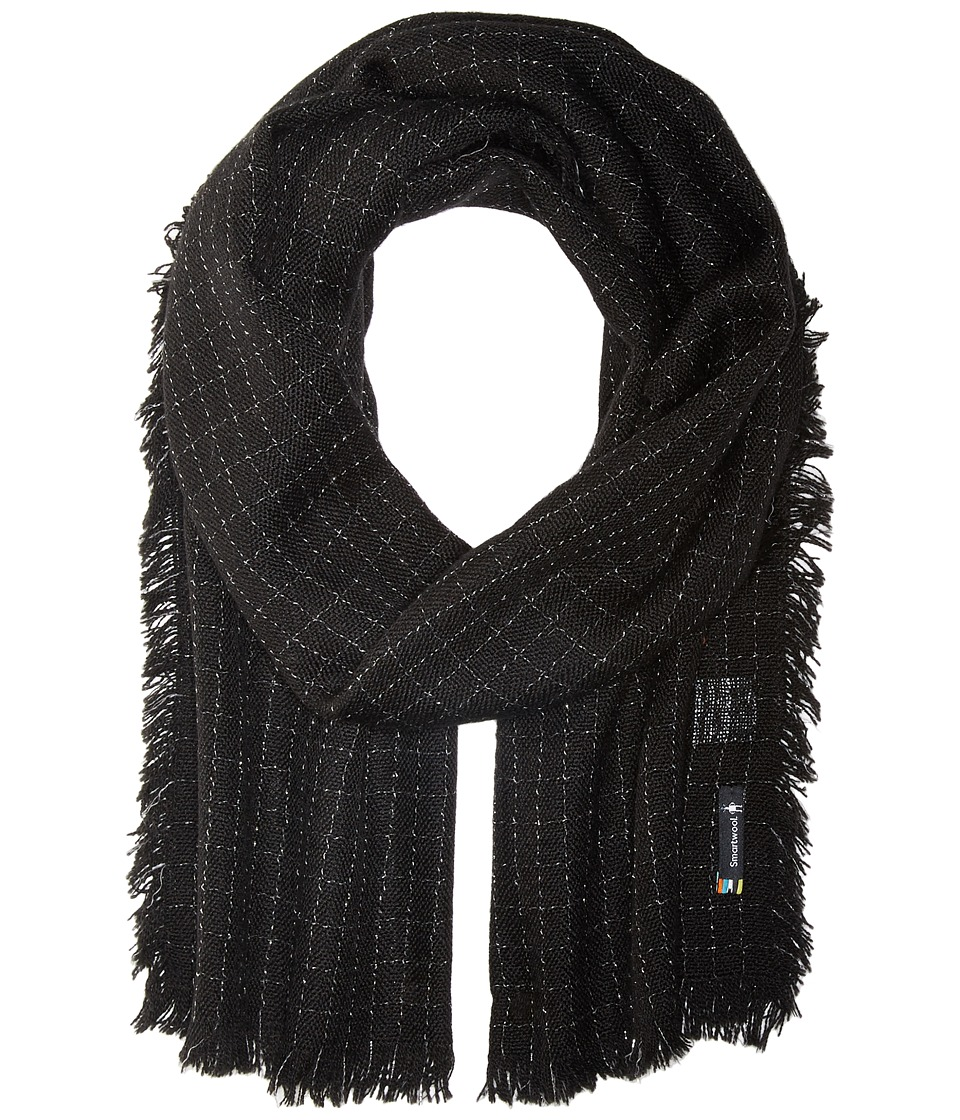 Smartwool - Summit County Scarf (Black) Scarves