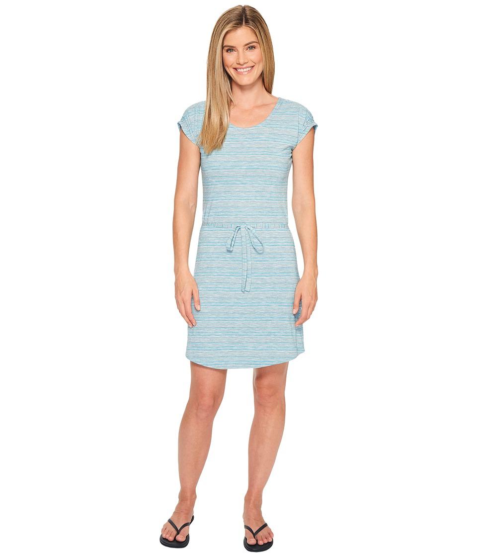 Aventura Clothing Taryn Dress (Carribean Sea) Women