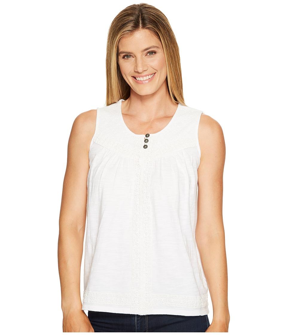Aventura Clothing - Remi Tank Top (White) Women's Sleeveless