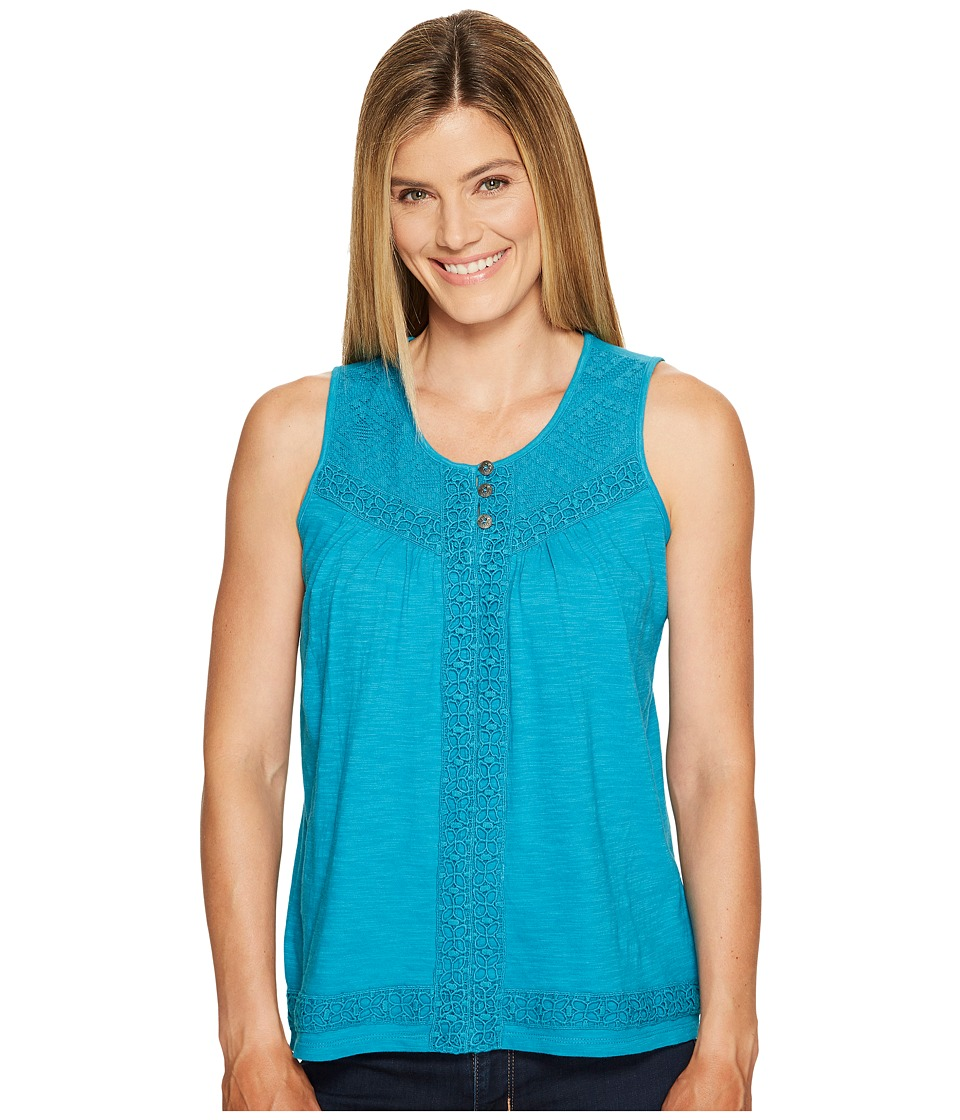 Aventura Clothing - Remi Tank Top (Caribbean Sea) Women's Sleeveless
