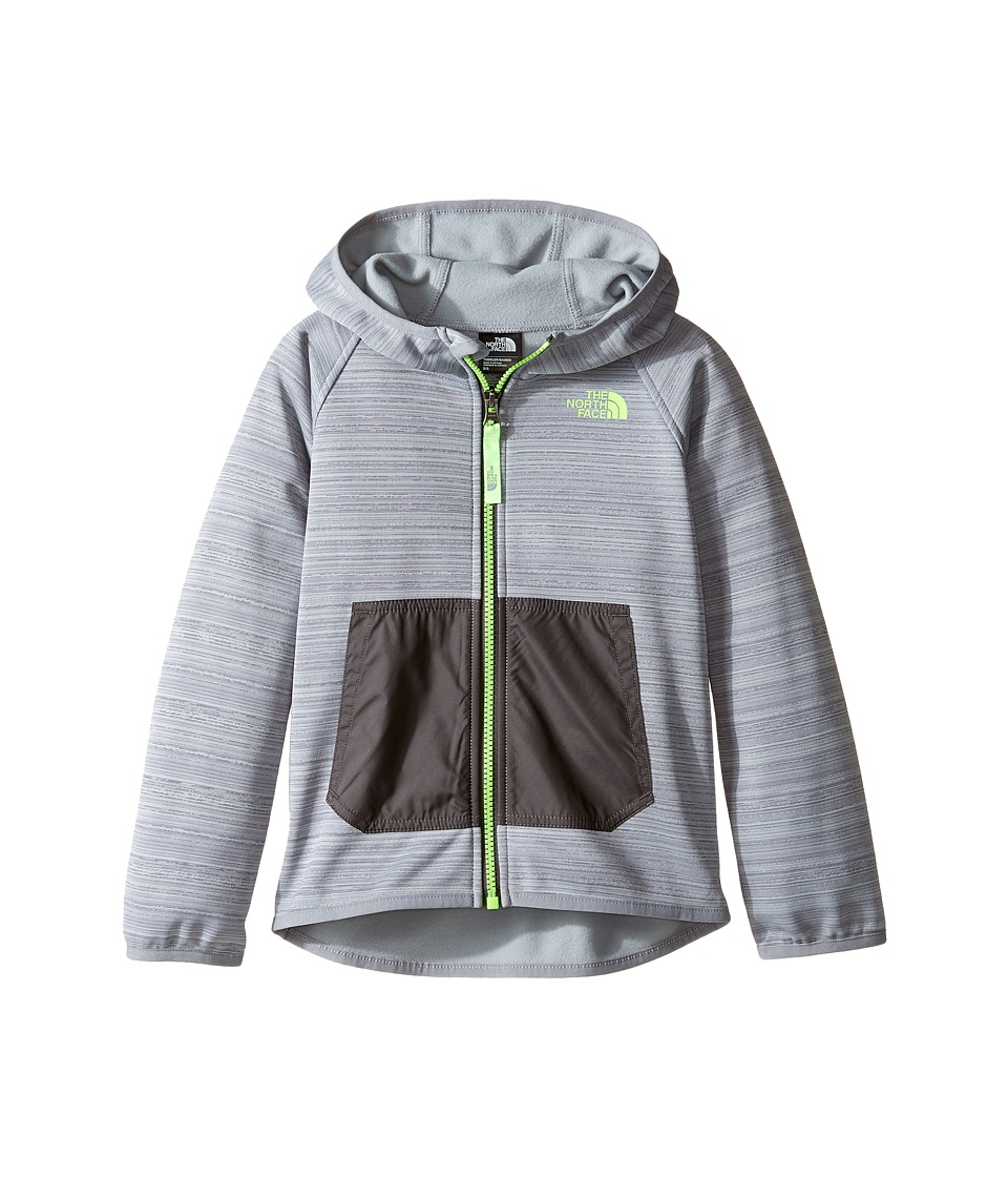The North Face Kids - Trace Hoodie (Toddler) (Mid Grey -Prior Season) Boy's Sweatshirt