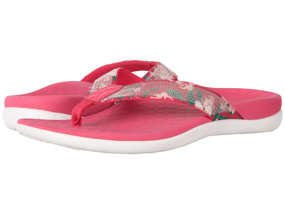 VIONIC - Tide Sequins (Pink Floral Print) Women's Sandals