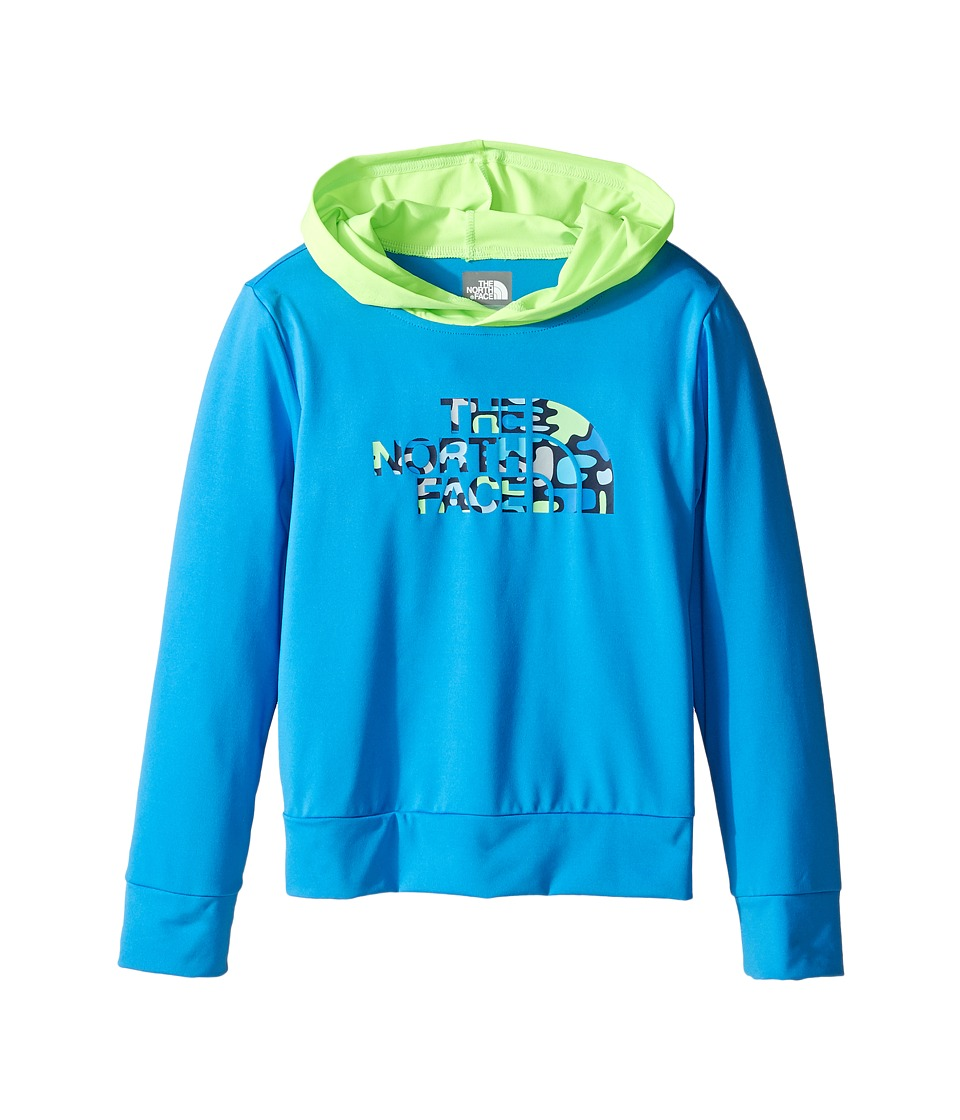 The North Face Kids - Long Sleeve Hike/Water Tee (Toddler) (Clear Lake Blue -Prior Season) Boy's Sweatshirt