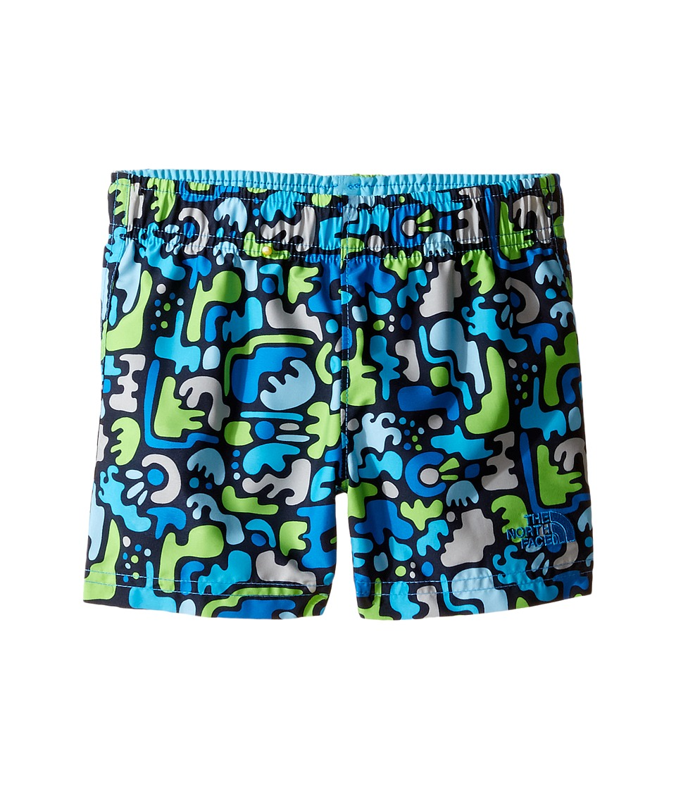 The North Face Kids - Hike/Water Shorts (Toddler) (Clear Lake Blue Desert Camo Hike Print -Prior Season) Boy's Shorts