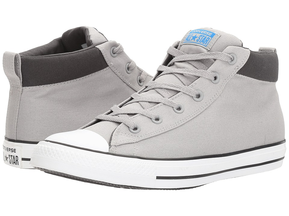 Converse - Chuck Taylor(r) All Star(r) Street Basics Mid (Dolphin/Soar/White) Men's Classic Shoes