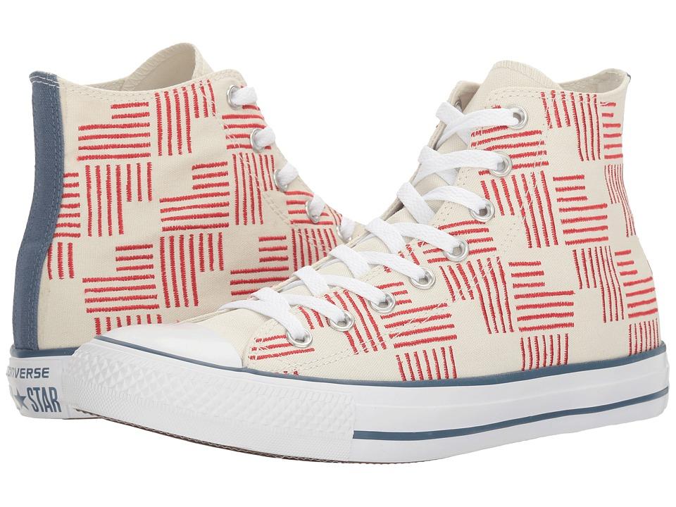 Converse - Chuck Taylor(r) All Star(r) Americana Hi (Buff/Casino/Blue Coast) Classic Shoes