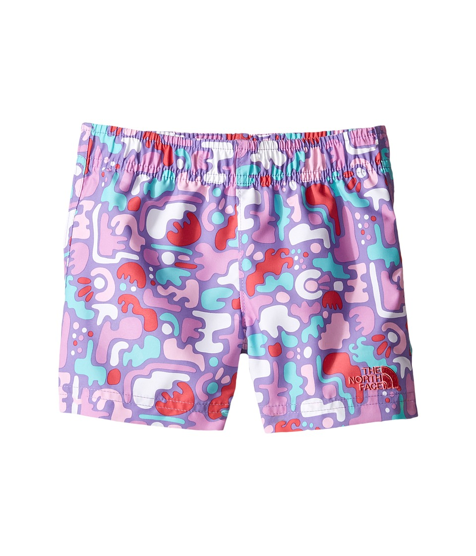 The North Face Kids - Hike/Water Shorts (Toddler) (Honeysuckle Pink Desert Camo Hike Print -Prior Season) Girl's Shorts