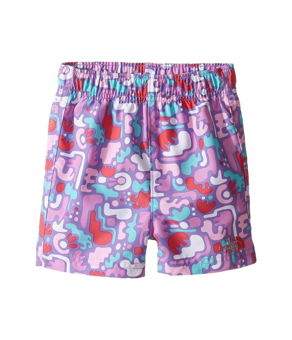 The North Face Kids - Hike/Water Short (Infant) (Honeysuckle Pink Desert Camo Hike Print -Prior Season) Kid's Shorts