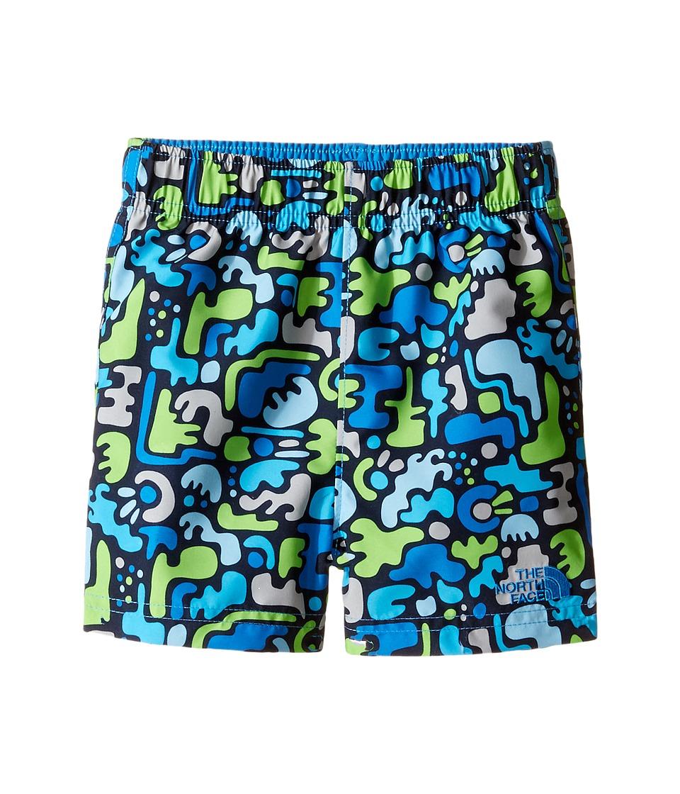 The North Face Kids - Hike/Water Short (Infant) (Clear Lake Blue Desert Camo Hike Print -Prior Season) Kid's Shorts