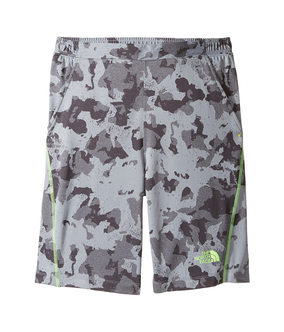 The North Face Kids - Mak Shorts (Little Kids/Big Kids) (Mid Grey Animal Camo Jacquard (Prior Season)) Boy's Shorts