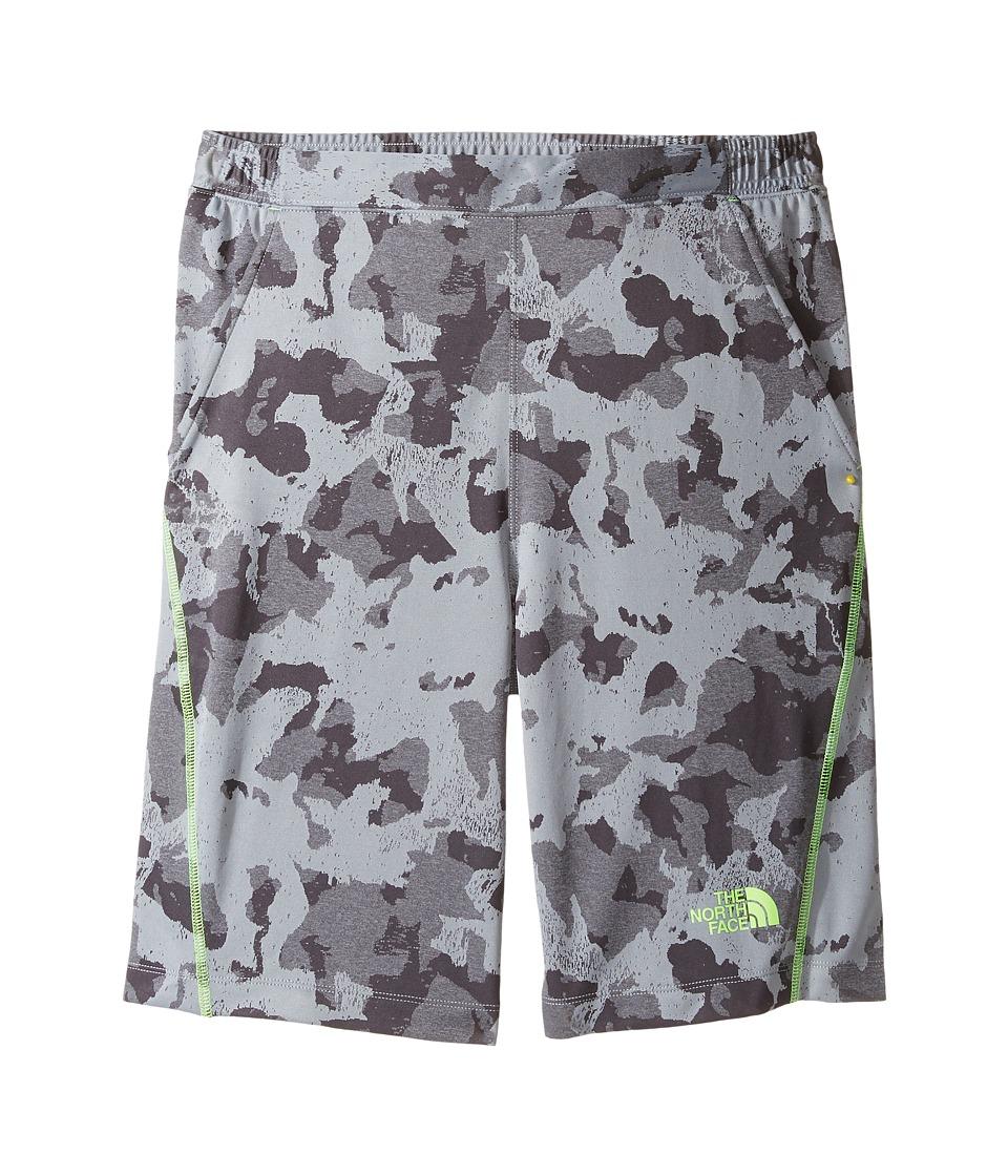 The North Face Kids - Mak Shorts (Little Kids/Big Kids) (Mid Grey Animal Camo Jacquard (Prior Season)) Boy's Shorts