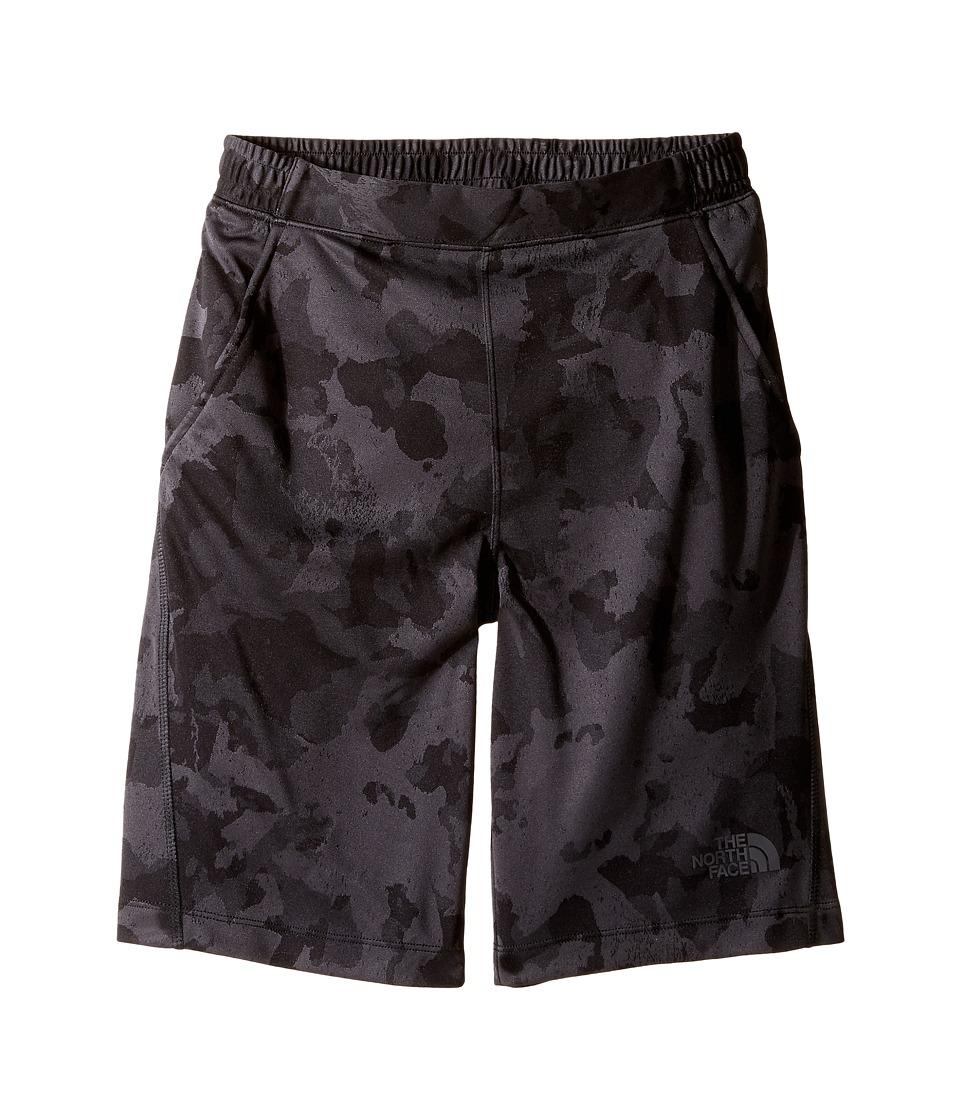 The North Face Kids - Mak Shorts (Little Kids/Big Kids) (TNF Black Animal Camo Jacquard (Prior Season)) Boy's Shorts