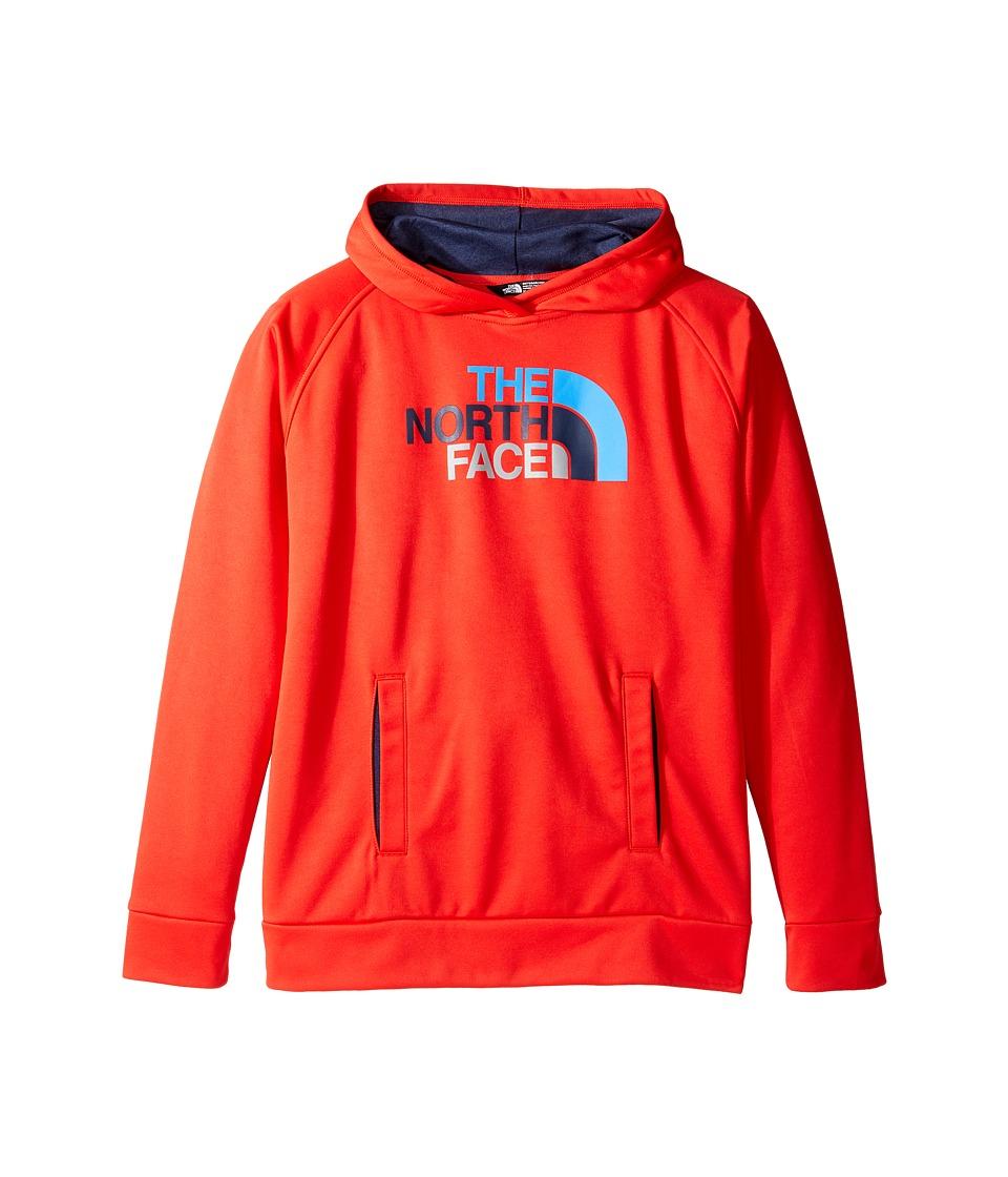 The North Face Kids - Surgent Pullover Hoodie (Little Kids/Big Kids) (High Risk Red (Prior Season)) Boy's Sweatshirt