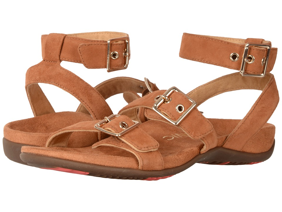 VIONIC - Sahara (Caramel) Women's Dress Sandals