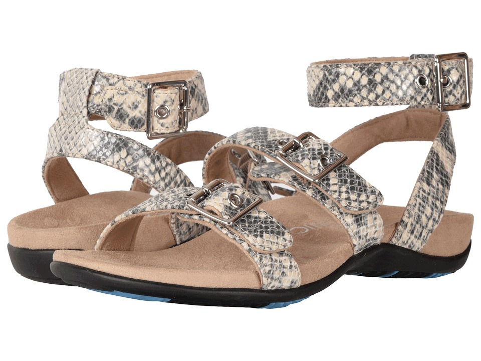 VIONIC - Sahara (Natural Snake) Women's Dress Sandals