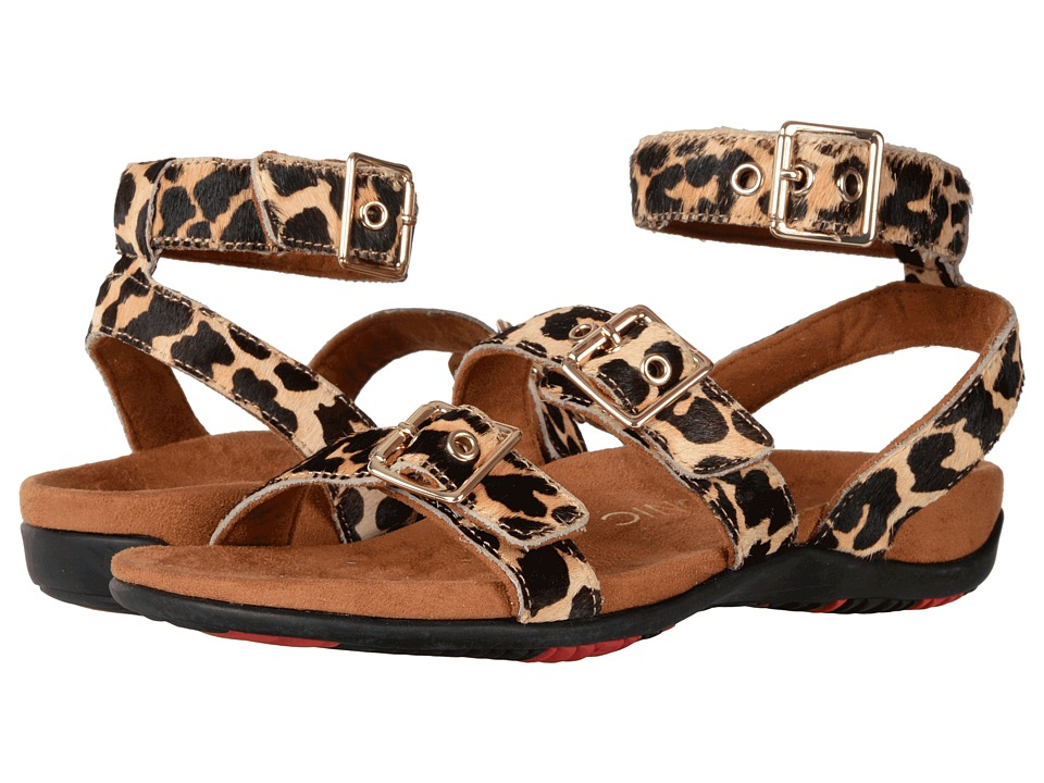 VIONIC - Sahara (Leopard Haircalf) Women's Dress Sandals