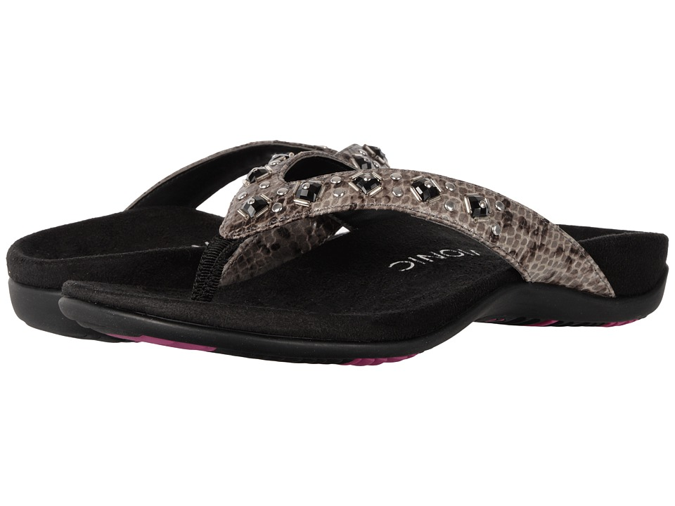 VIONIC - Floriana (Grey Snake) Women's Sandals