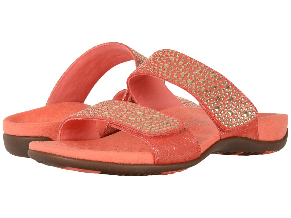VIONIC Samoa (Coral Pixel Suede) Women