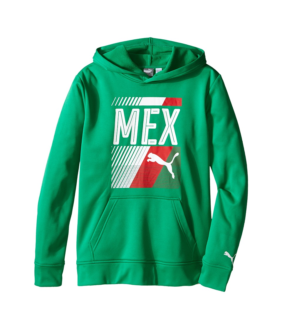 Puma Kids - Mexico Olympic Hoodie (Big Kids) (Astro Turf) Boy's Sweatshirt