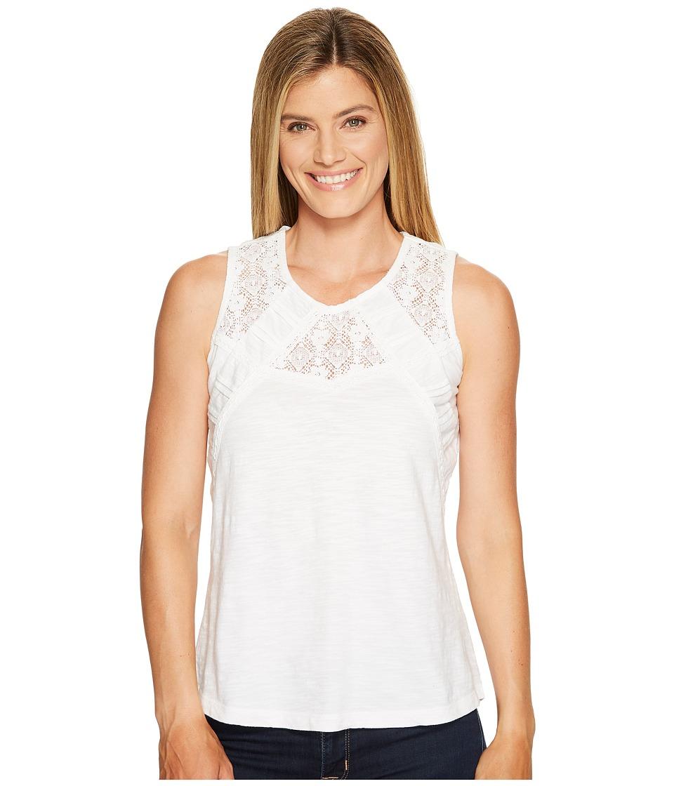 Aventura Clothing - Tierney Tank Top (White) Women's Sleeveless