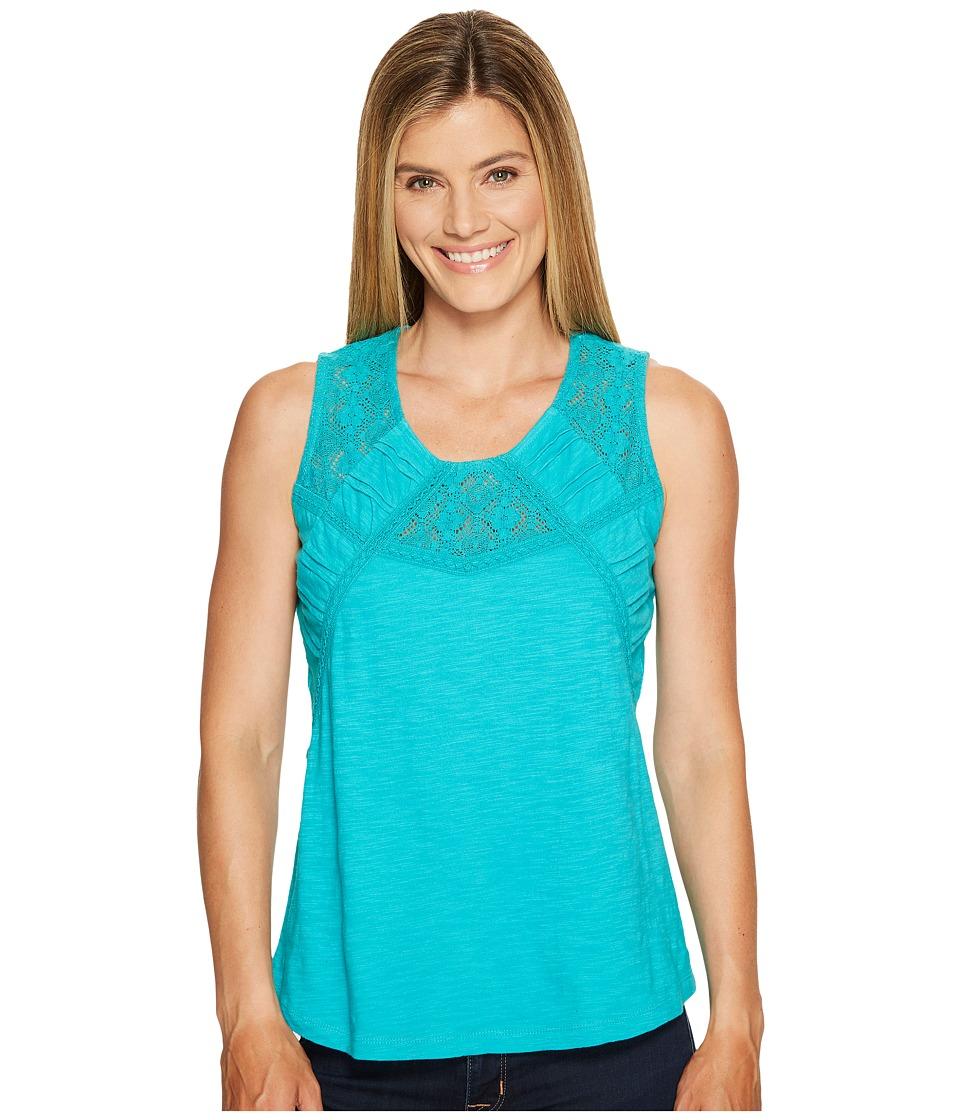 Aventura Clothing - Tierney Tank Top (Viridian Green) Women's Sleeveless