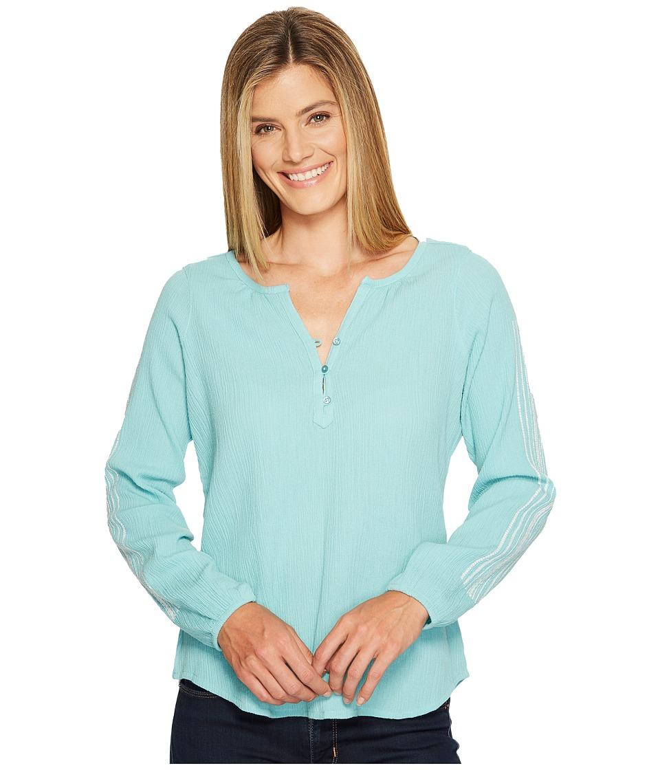 Aventura Clothing - Annabel Long Sleeve (Aqua Haze) Women's Clothing