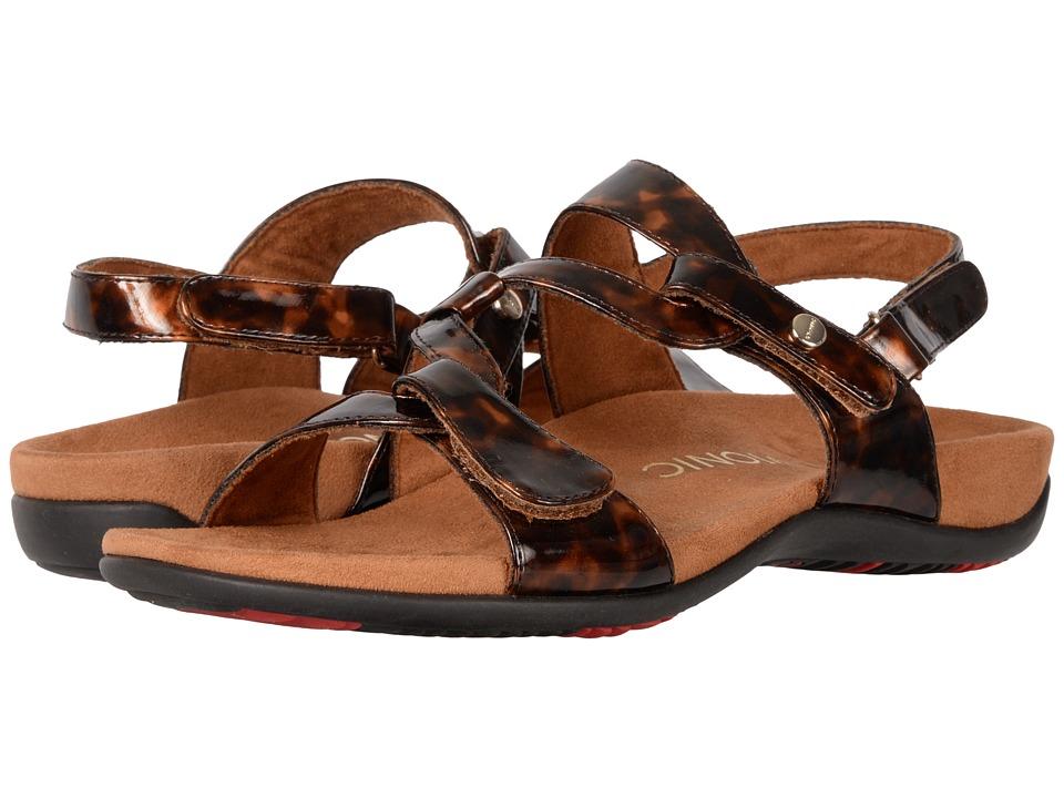 VIONIC - Paros (Tortoise PU) Women's Sandals