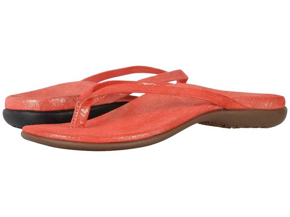 VIONIC - Corfu (Coral Pixel Suede) Women's Sandals
