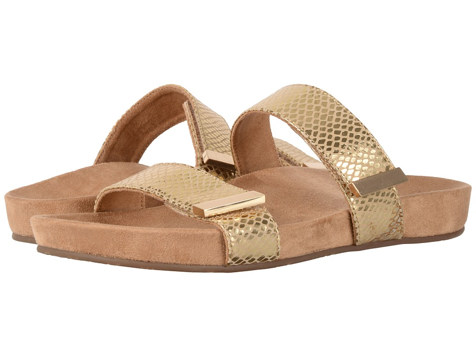 VIONIC - Jura (Gold Snake) Women's Sandals