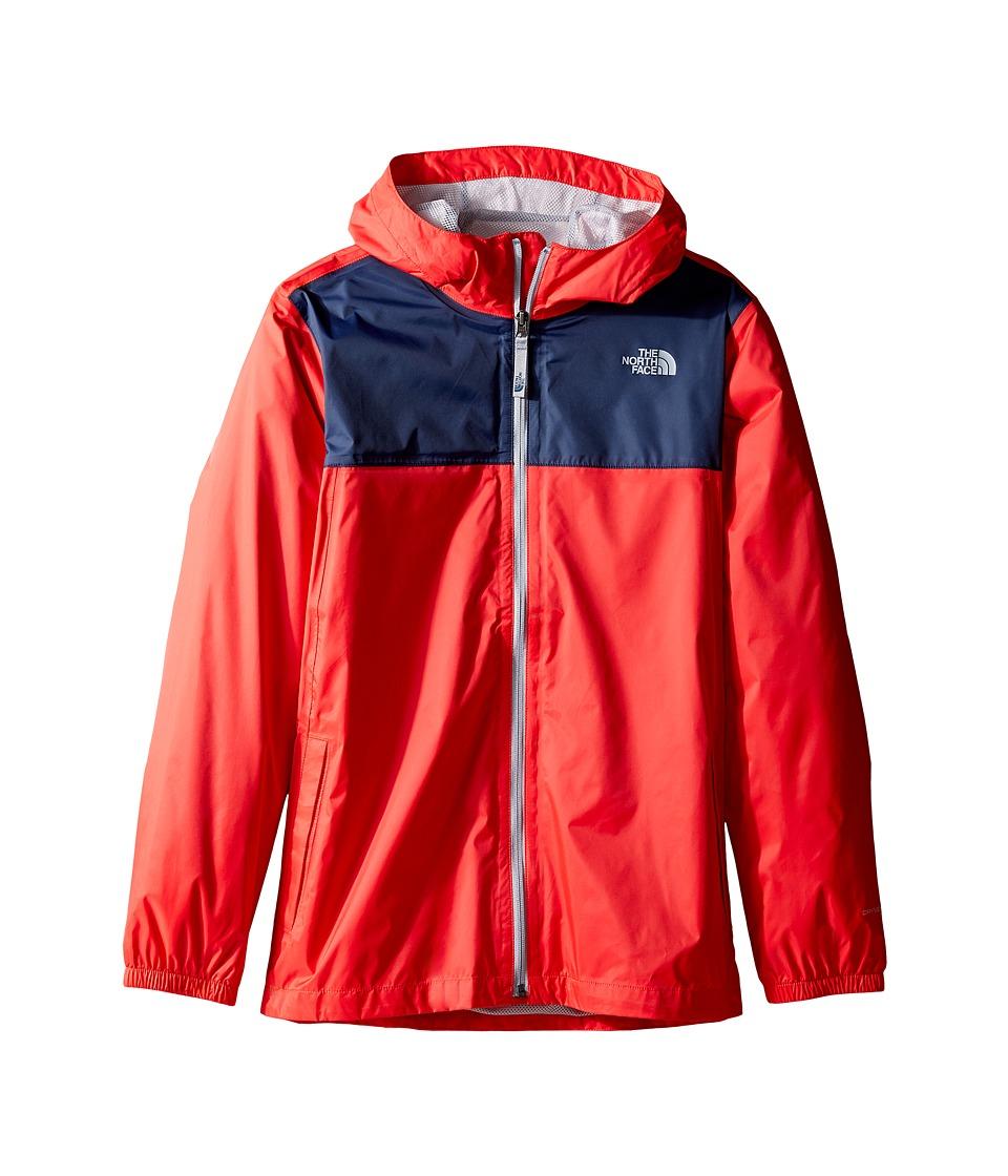 The North Face Kids - Zipline Rain Jacket (Little Kids/Big Kids) (High Risk Red (Prior Season)) Boy's Coat