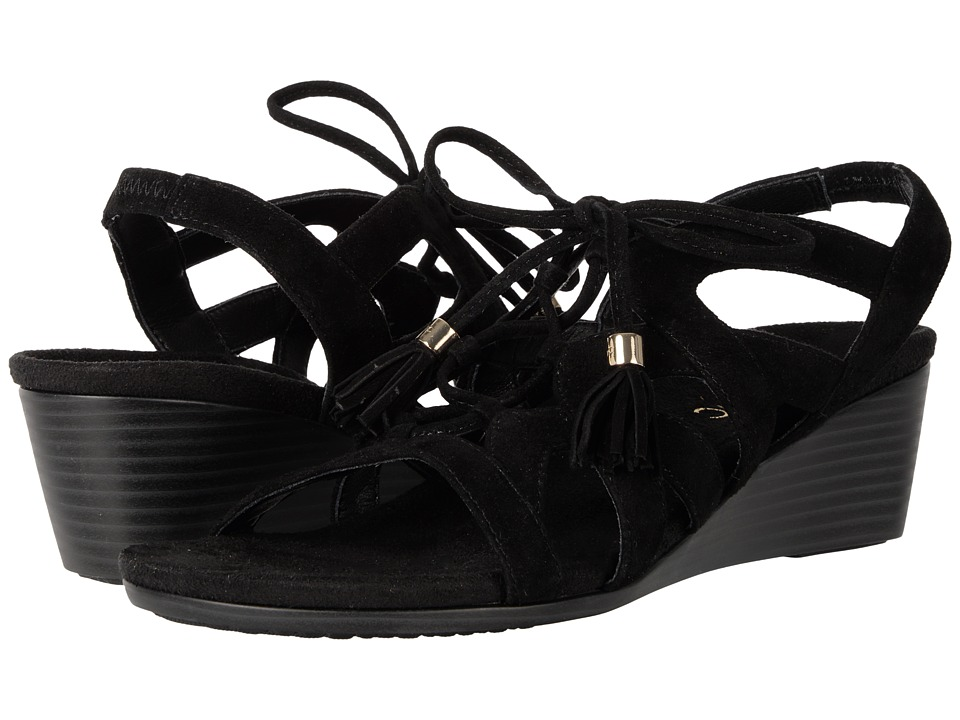 VIONIC - Kalie (Black) Women's Wedge Shoes