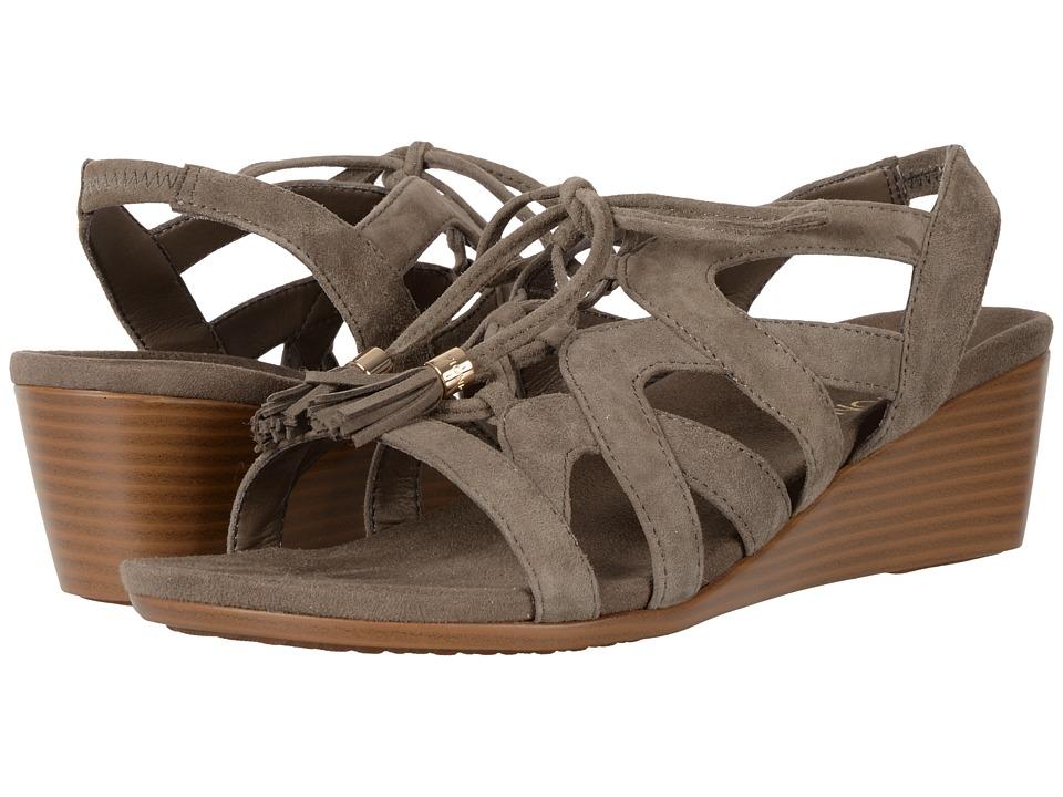 VIONIC - Kalie (Greige) Women's Wedge Shoes