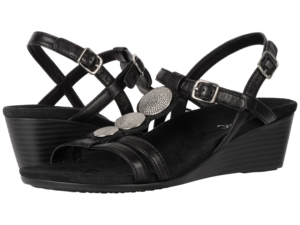 VIONIC - Noleen (Black) Women's Wedge Shoes